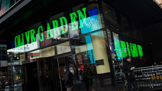 The Olive Garden Darden Restaurants