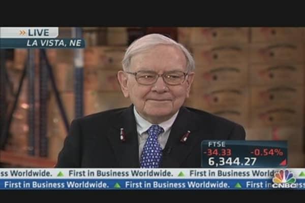 Warren Buffett Calls Berkshire's 2012 'Subpar'