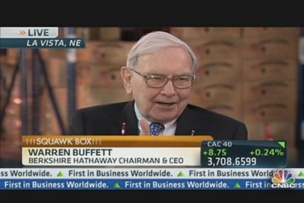 Buffett Answers Cramer's Nat Gas Question