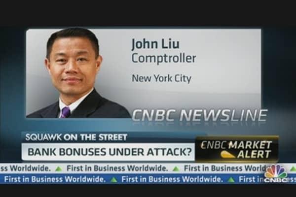Bank Bonuses Under Attack?