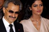 Prince Alwaleed Bin Talal Bin Abdulaziz Alsaud and wife Princess Amira