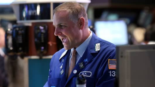 NYSE traders happy