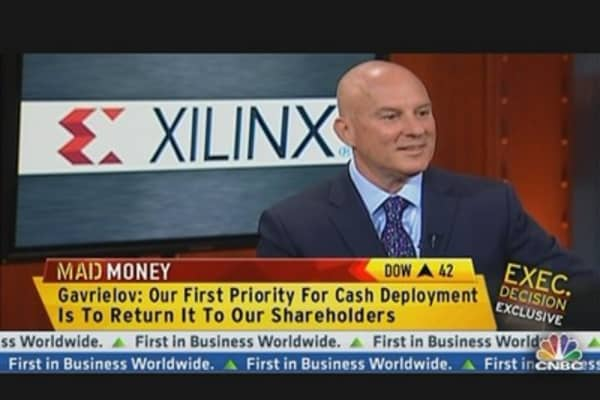 Xilinx CEO on Returning Cash & Competition