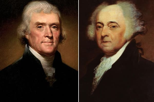 Thomas Jefferson John Adams Election of 1800