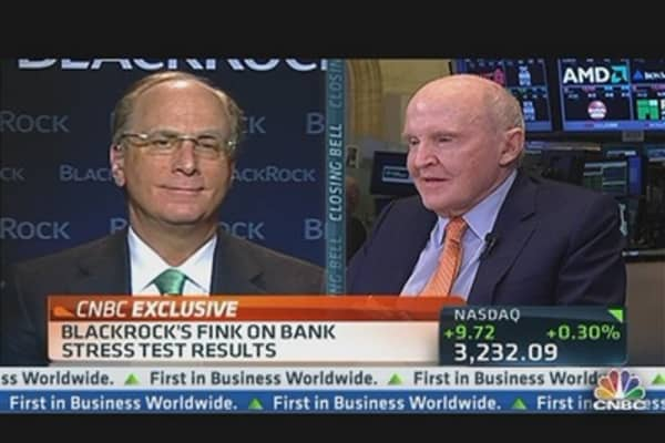 BlackRock's Fink on Bank Stress Tests