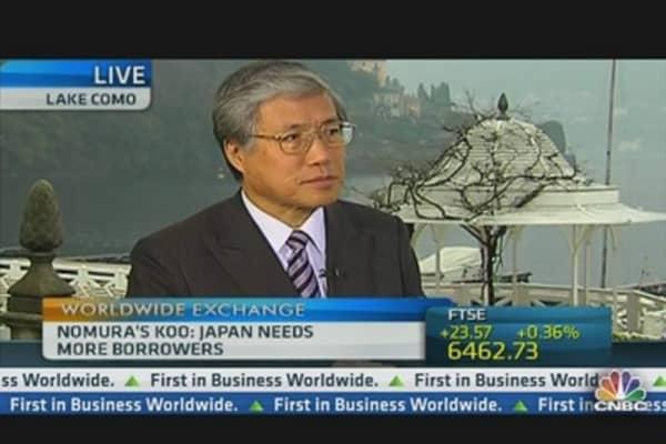 Japan Needs Fiscal Stimulus : Nomura's Koo