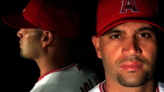 Albert Pujols of the L.A. Angels of Anaheim.