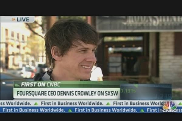 Foursquare CEO on Partnerships & Competition