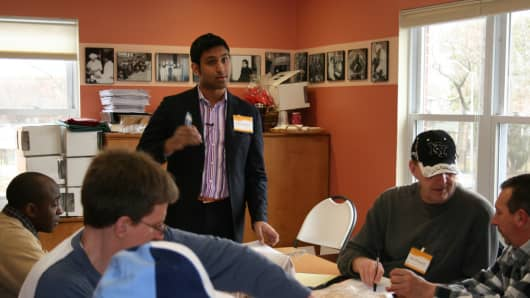 Rohan Mathew is co-founder of the Intersect Fund, a New Brunswick, N.J.-based nonprofit that supports low-income entrepreneurs in the region.