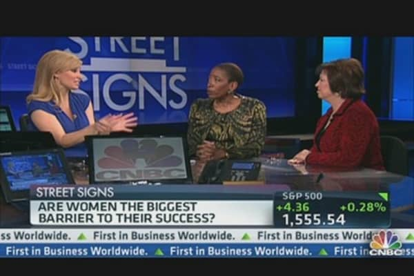 Are Women the Biggest Barrier to Their Success?