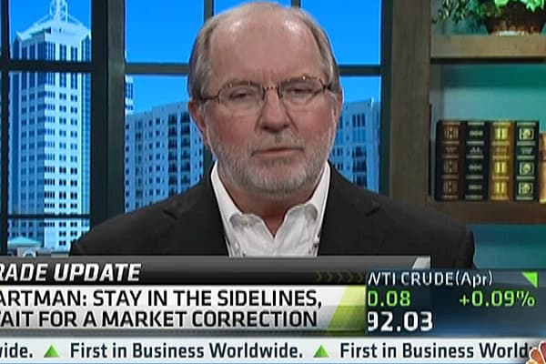 Gartman: I Was Wrong, But Still Staying Out of Stocks
