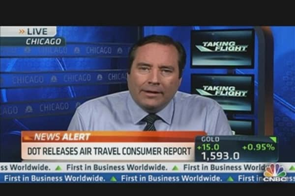 DOT Releases Air Travel Consumer Report