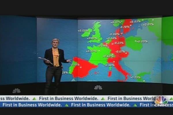 European Shares Pause for Breath