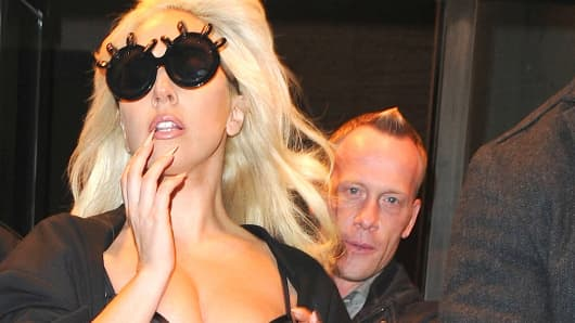 Lady Gaga and her former bodyguard, Ed Majcina.