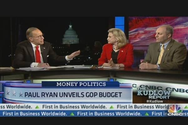 Paul Ryan Unveils GOP Budget