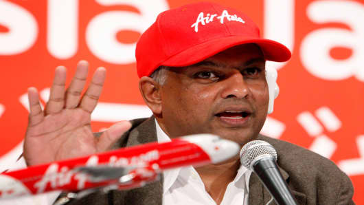 Tony Fernandes, chief executive officer of AirAsia.