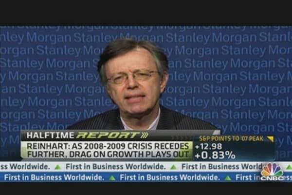 'Resilience' in Market Through 2013: Reinhart