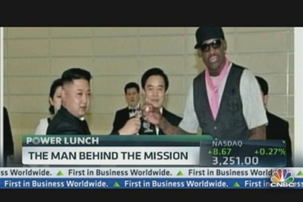 Dennis Rodman's Trip to North Korea