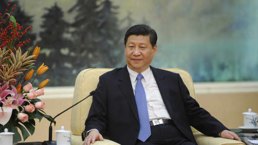 Chinese Communist Party President Xi Jinping.