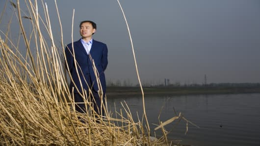 Environmentalist Ma Jun in Beijing.