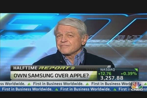 'Apple's Already Lost' to Samsung: Porter Bibb
