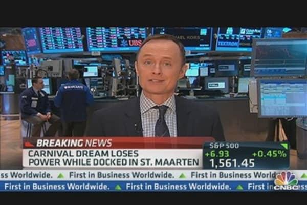 Carnival Dream Loses Power