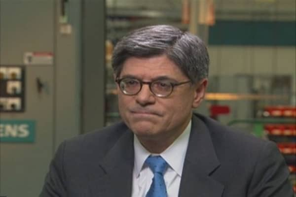 Jack Lew: We Have a Resilient Economy