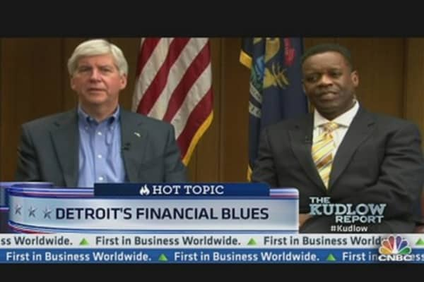 Gov. Snyder on Detroit's Financial Blues
