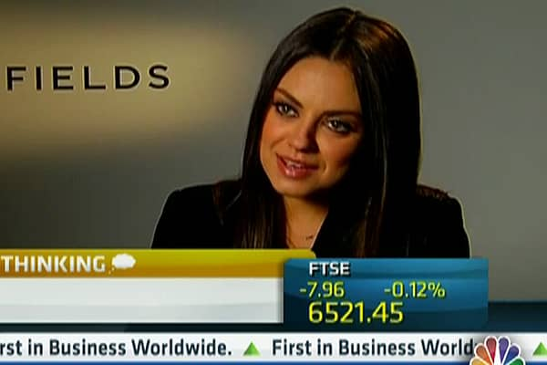 Mila Kunis: Moving Into Stocks