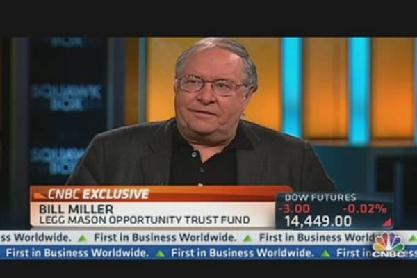 Bill Miller on What's Driving the Markets