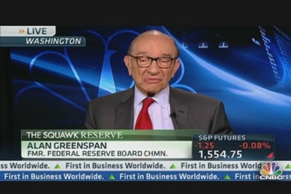 Greenspan Doesn't See 'Irrational Exuberance' in the Markets