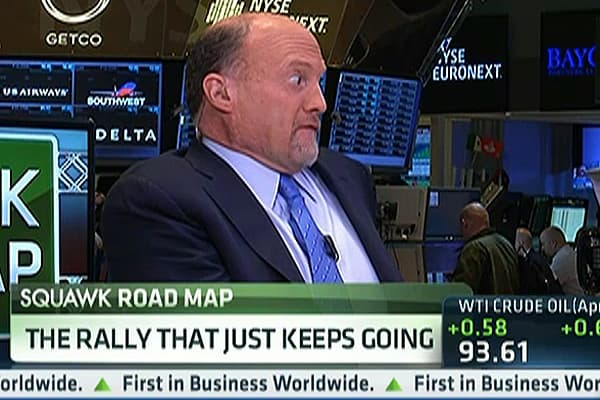 Cramer: It's a 'Wallendas Market'