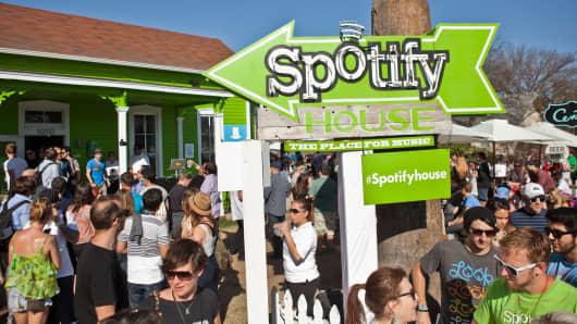 Spotify house SXSW