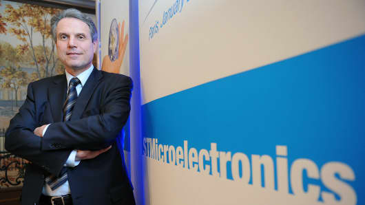 Carlo Bozotti, chief executive officer of STMicroelectronics