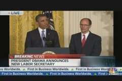 Pres. Obama Announces New Labor Secretary