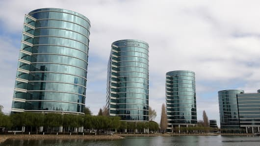 Oracle headquarters, Redwood Shores, Calif.