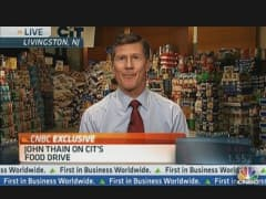 CIT Group CEO Thain: Gathered Over 30 Tons of Food For Charity