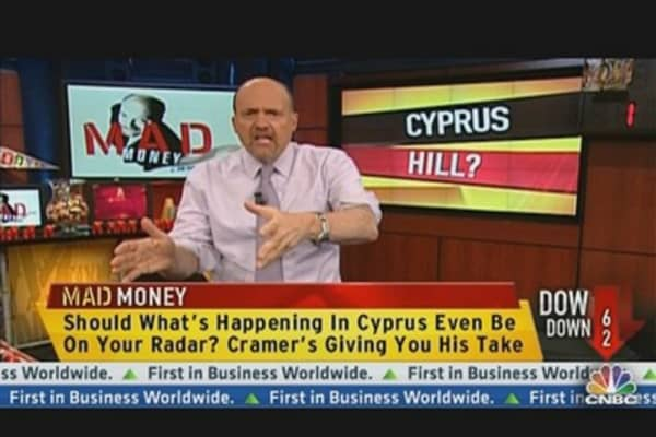 A Cyprus Bailout & Your Money