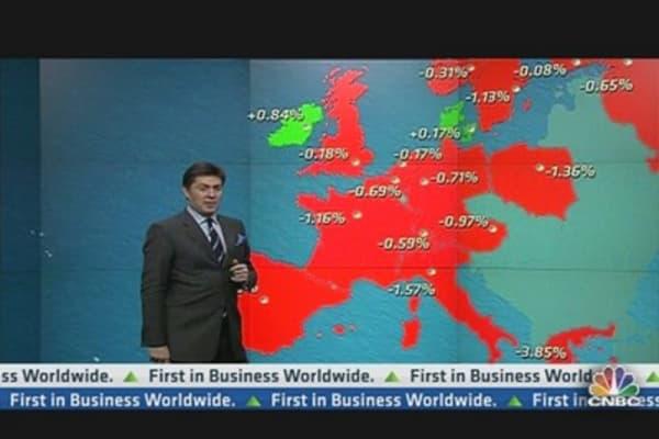 European Markets Close Lower