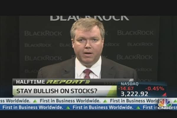 Stocks 'Reasonable, Compelling': BlackRock CIO