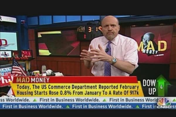 Cramer Makes Sense of Today's Action