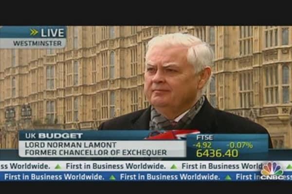 Osborne in Tough Position: former Chancellor