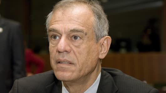 Michalis Sarris, the Cypriot minister of finance