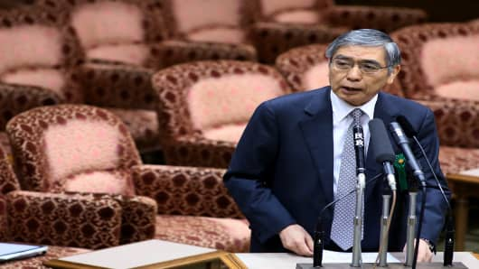 Bank of Japan Governor Haruhiko Kuroda