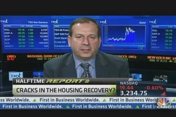 Cracks in Housing Recovery?