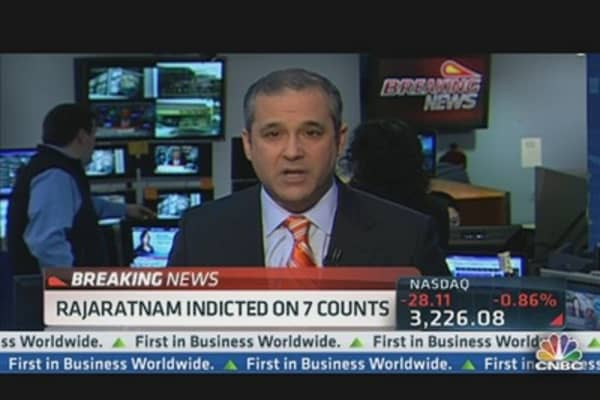 Rengan Rajaratnam Indicted for Insider Trading