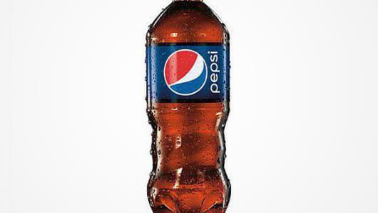The new Pepsi bottle design.