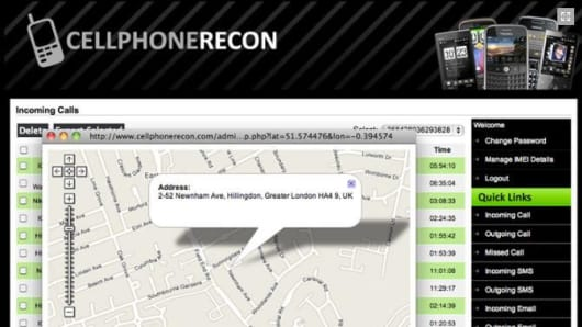 Cellphone Recon allows you easily and covertly monitor all cellphone activity.