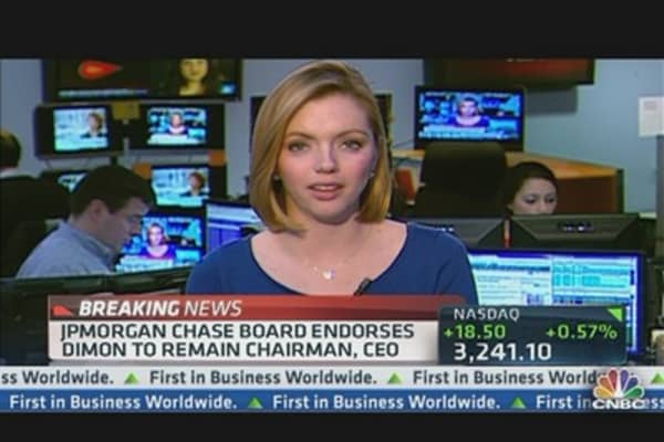 JPMorgan Chase Board Endorses Dimon