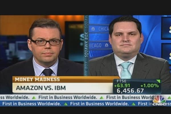 Money Madness: IBM vs. Amazon